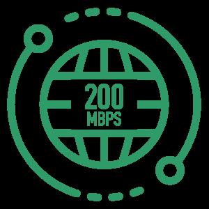200 Mbps Internet