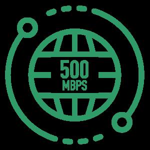 500 Mbps Internet