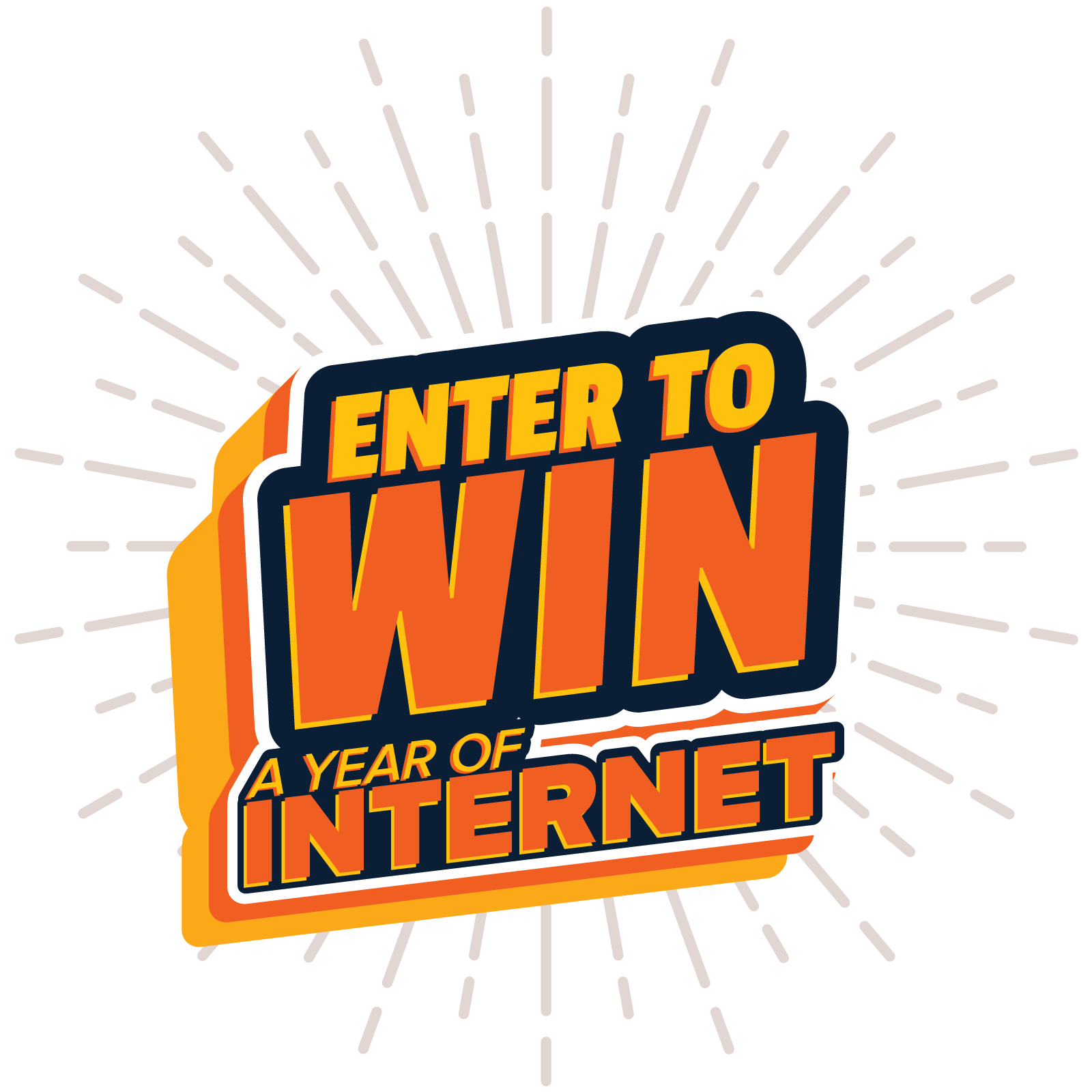 Win a Year of Internet
